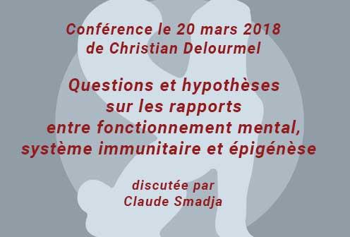 Conférence à la SPP de Christian Delourmel le20/03/2018