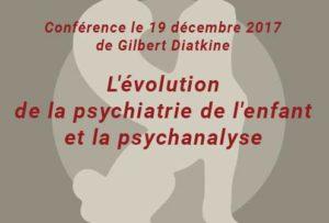 Conférence à la SPP de Gilbert Diatkine le 19/12/2017