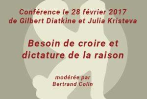 Conférence à la SPP de Julia Kristeva et Gilbert Diatkine le 28/02/2017