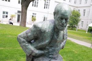 Im Memory of Sigmund Freud - Enthüllung des Sigmund Freud Denkmals am MedUni Campus AKH