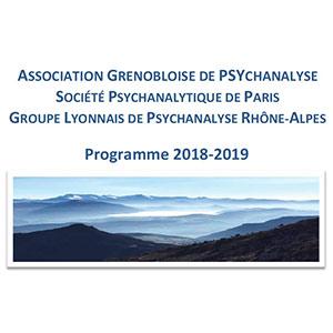 AGPSY programme 2018-2019