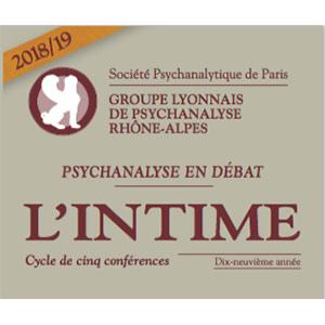 GLPRACycle de 5 Conférences sur L'Intime 2019