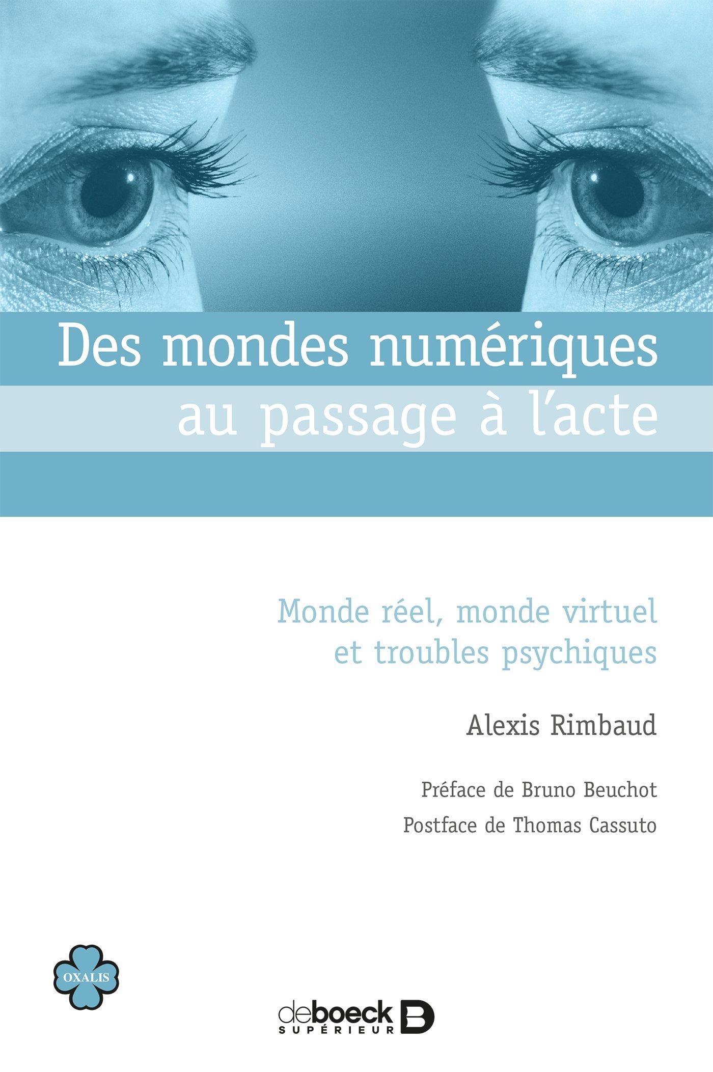 Alexis Rimbaud Des mondes numériques au passage à l'acte. Monde réel, monde virtuel et troubles psychiques