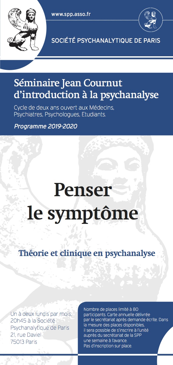 SPP Séminaire Jean Cournut Programme 2019-2020