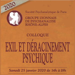 GLPRA 2020 Exil et déracinement psychique - janvier
