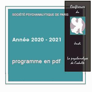 SPP Conférences du jeudi 2020-2021