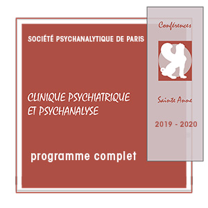 SPP Conferences Sainte-Anne 2019-2020