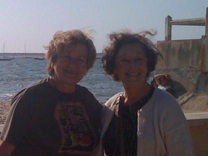 Annie Anzieu avec Florence Guignard