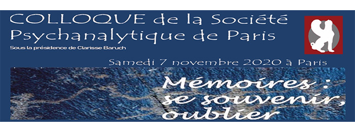 Colloque SPP novembre 2020 : Mémoires