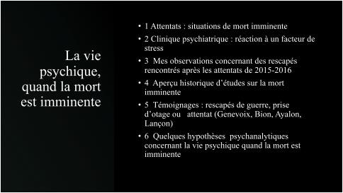 La vie psychique, quand la mort est imminente - Geneviève Welsh